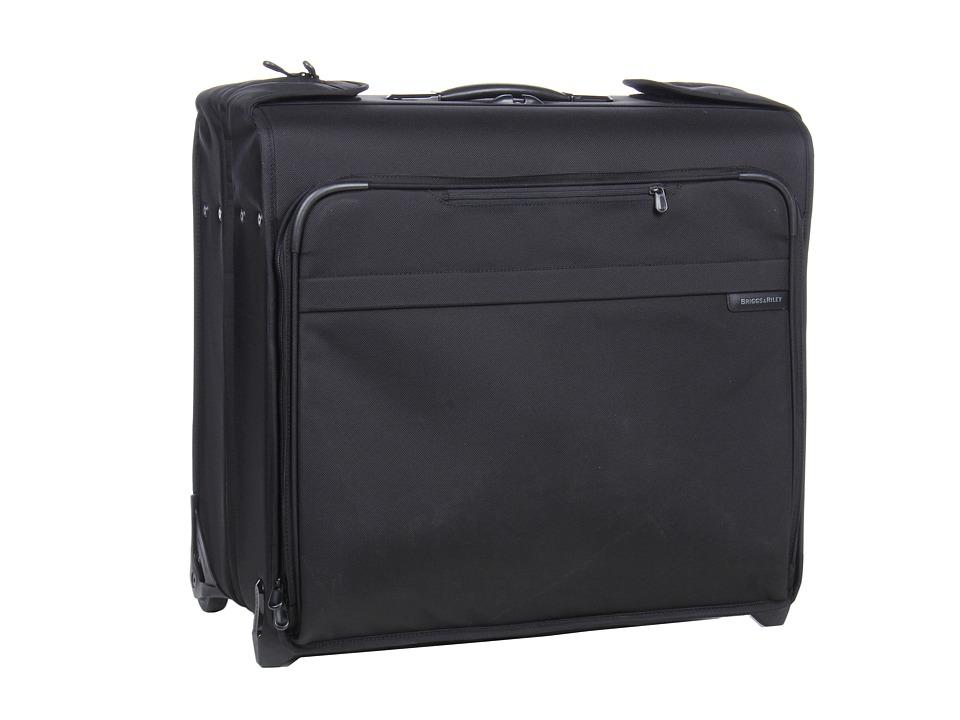 Briggs amp Riley Baseline Wheeled Wardrobe Black Luggage