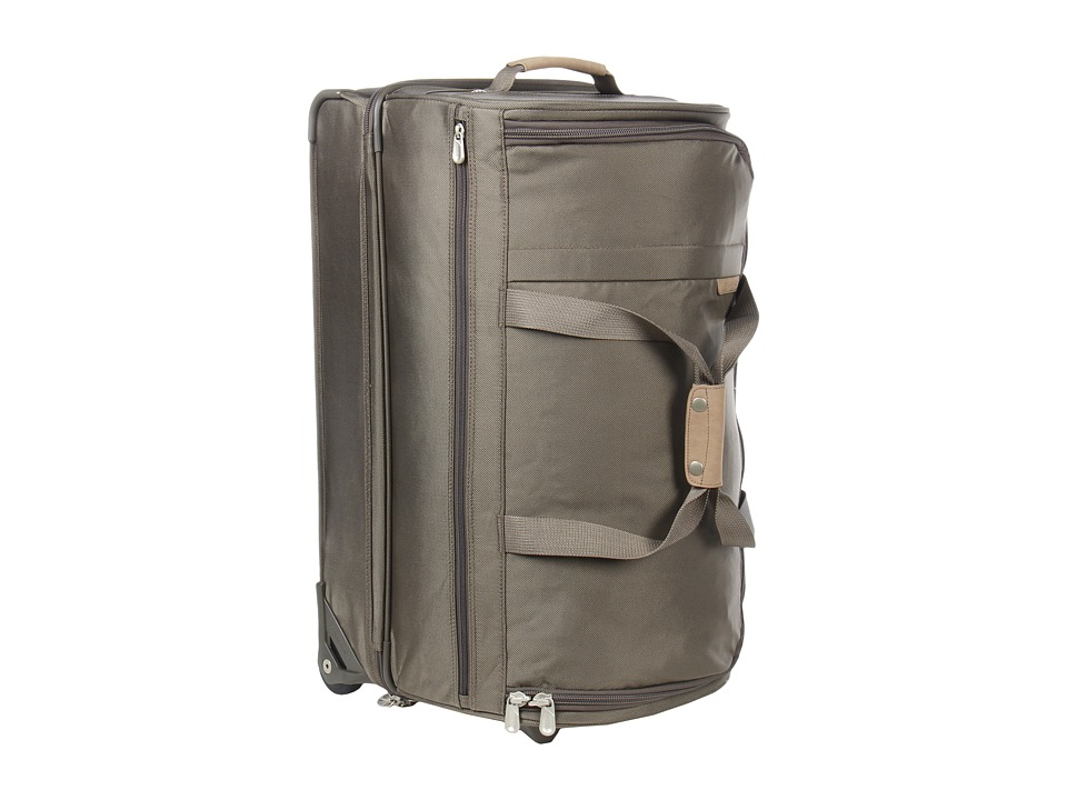 Briggs & Riley - Baseline Medium Upright Duffle (Olive) Duffel Bags