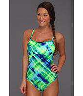 TYR - Baja Plaid Reversible Diamondfit Swimsuit w/ Cups