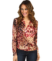Anne Klein - Stepping Stone Print L/S Blouse