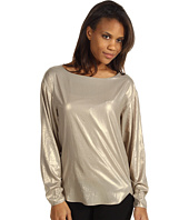 Anne Klein - Foiled L/S Blouse