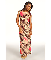 Anne Klein - Abstract Print Maxi Dress