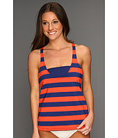 Splendid - Marcel Stripe Double Dip Tankini Top