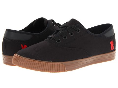 Chrome - Truk (Black/Gum) - Footwear