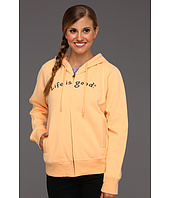 Life is good - Zippity Zip-Up Hooded Sweatshirt