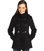Kensie - Hooded Toggle Front Coat
