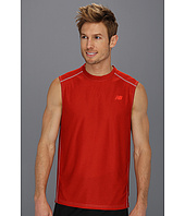 New Balance - Sleeveless Heather Performance Top