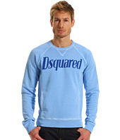 DSQUARED2 - Classic Fit Cotton Fleece Sweatshirt