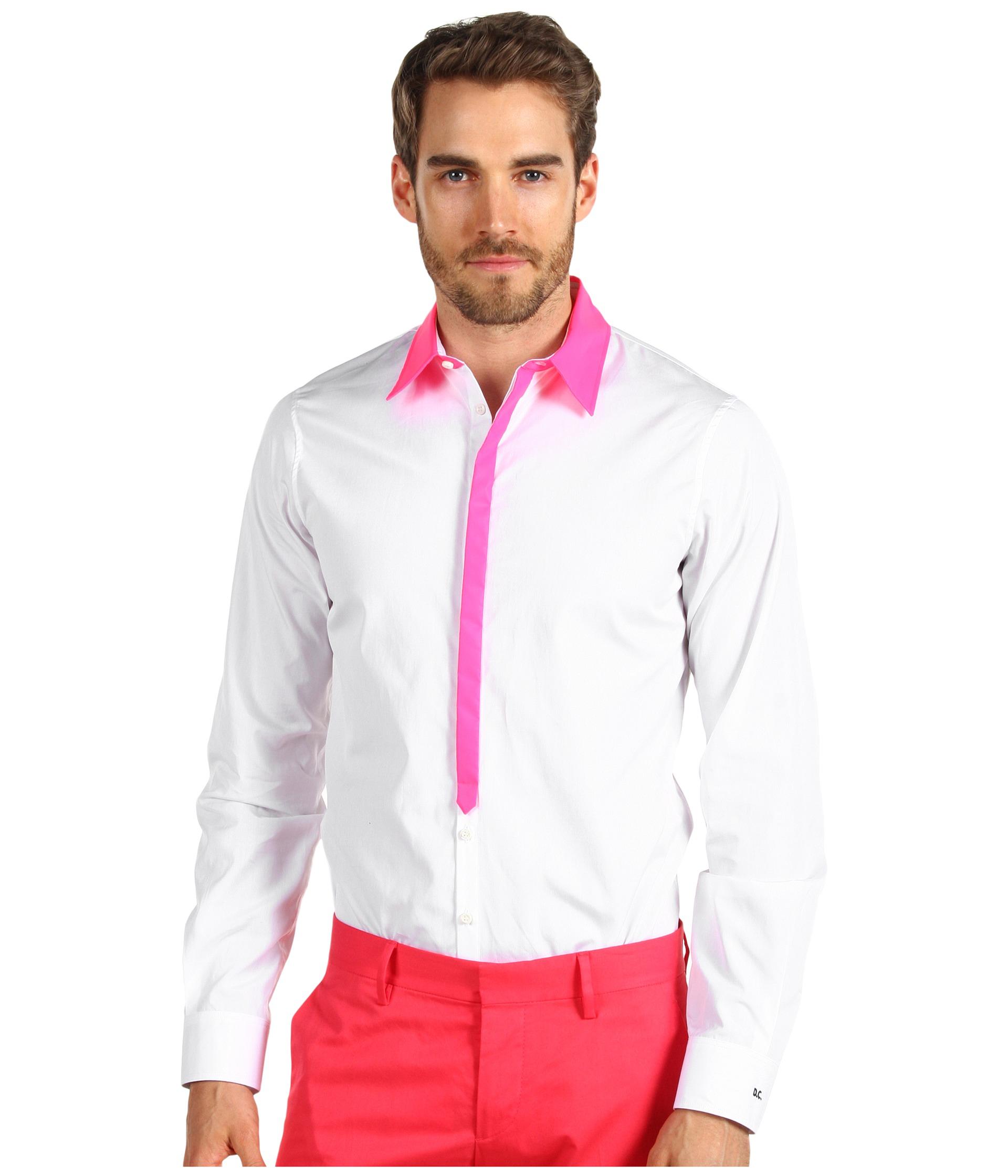 Pink dress shirt for women  Robert Graham blue nylon uVolasu zip windbreaker jacket on shopstyle