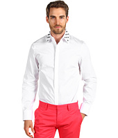 DSQUARED2 - Cotton Poplin Pois Collar Shirt