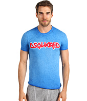 DSQUARED2 - Sexy Slim Fit Cotton/Linen Logo Tee