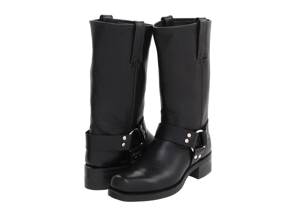 Frye - Harness 12R (Black) Cowboy Boots