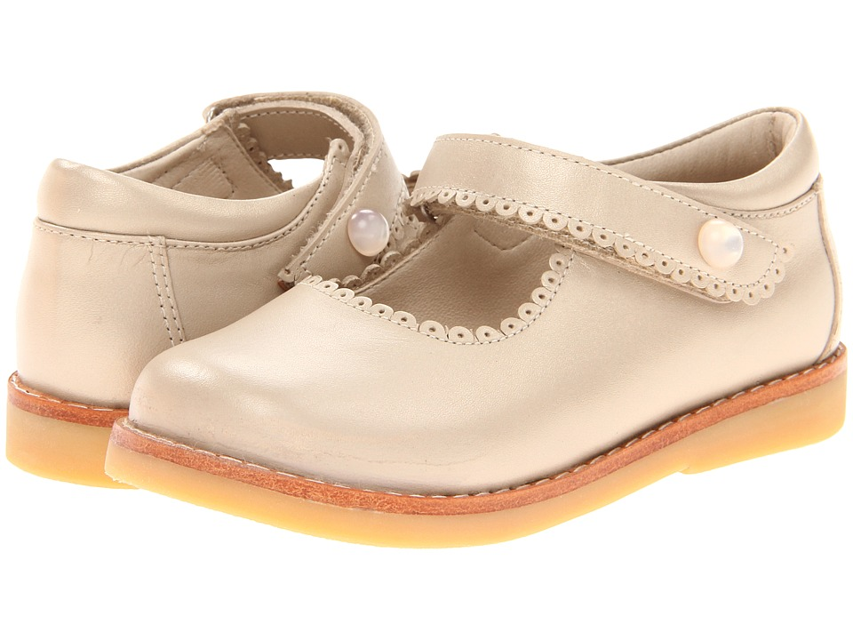 Elephantito - Mary Jane (Toddler/Little Kid) (Champagne) Girls Shoes