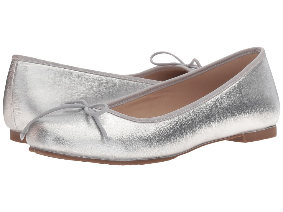 Elephantito Andrea Flat (Toddler/Little Kid/Big Kid) (Silver) Girl