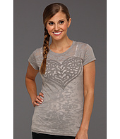 Life is good - Heart Topnotch Burnout Tee