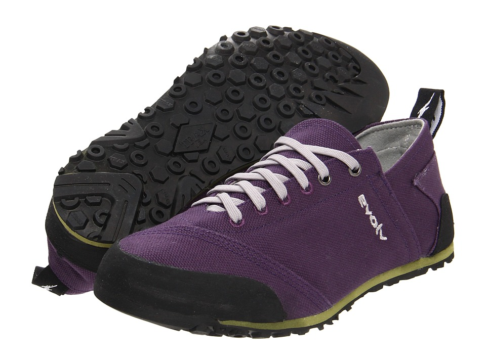 EVOLV Cruzer Purple Womens Lace up casual Shoes