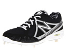New Balance MB3000 Metal Low Cut Cleat Black, Silver Shoes