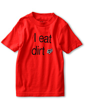 Fox Kids - Eat Dirt S/S Tee (Little Kids)