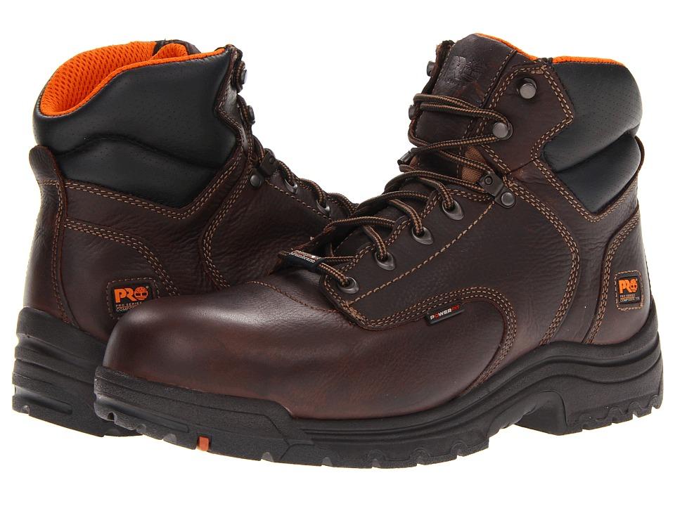 Timberland PRO - Titan 6 Composite WP (Dark Brown) Mens Work Boots