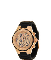 Michele - Tahitian Jelly Bean Rose Gold-Tone Black Tiger Dial