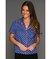 Juicy Couture - Josie Dot Sateen PJ Top