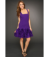Robert Rodriguez - Fit and Flare Ruffle Dress