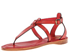 Frye - Rachel T Sandal (Burnt Red Veg Tan) Sandal