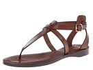 Frye - Rachel T Sandal (Dark Brown Veg Tan) Sandal