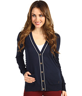 Juicy Couture - L/S Cardigan w/ Striped Back