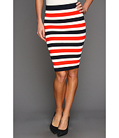 Juicy Couture - Atlantic Stripe Full Milano Pencil Skirt