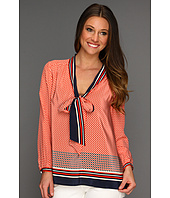 Juicy Couture - Nantucket Geo CDC Peasant Blouse