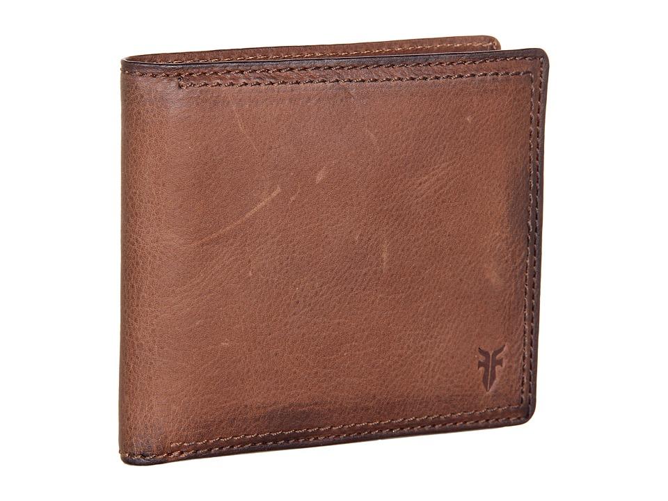 Frye - James Wallet (Taupe Tumbled Full Grain) Wallet Handbags
