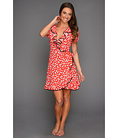 Juicy Couture - Heart Print Crepe Dress
