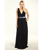 Nicole Miller - Evening Gown With Sequin Inset Band