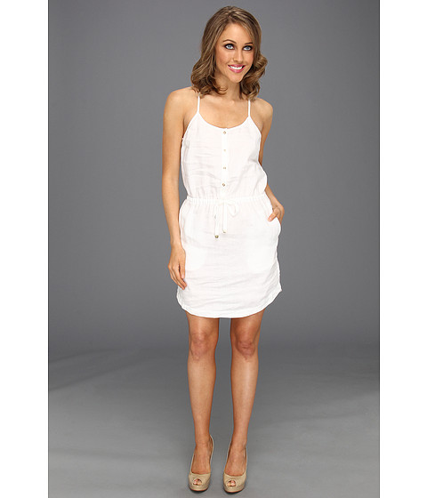Cheap Juicy Couture Beach Linen Dress White