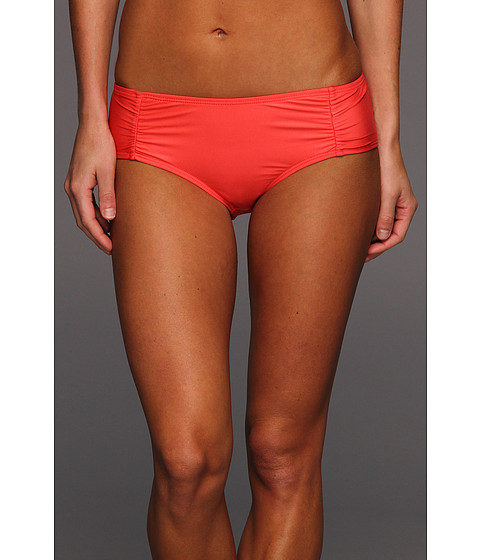 Cheap Ella Moss Solids Brief Coral