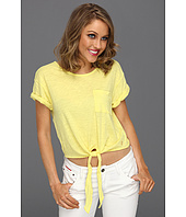 Juicy Couture - Solid Slub Crop Top
