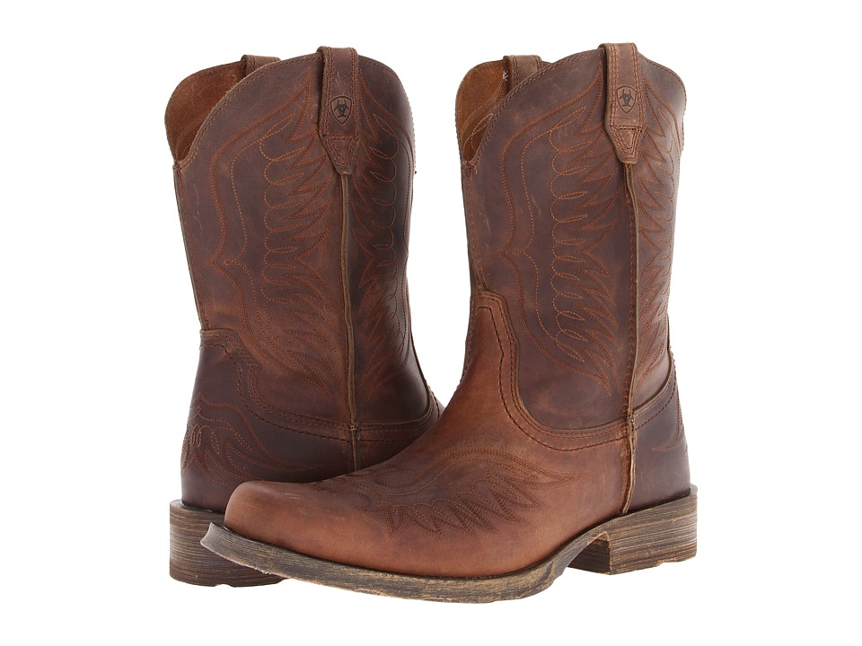 Ariat - Rambler Phoenix (Distressed Brown) Cowboy Boots