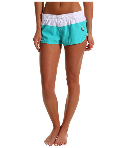 Shop Billabong - Ollie Volley Boardshort Seafoam  and Billabong online - Women, Clothing, Swimwear, Swimsuit Bottoms online Store