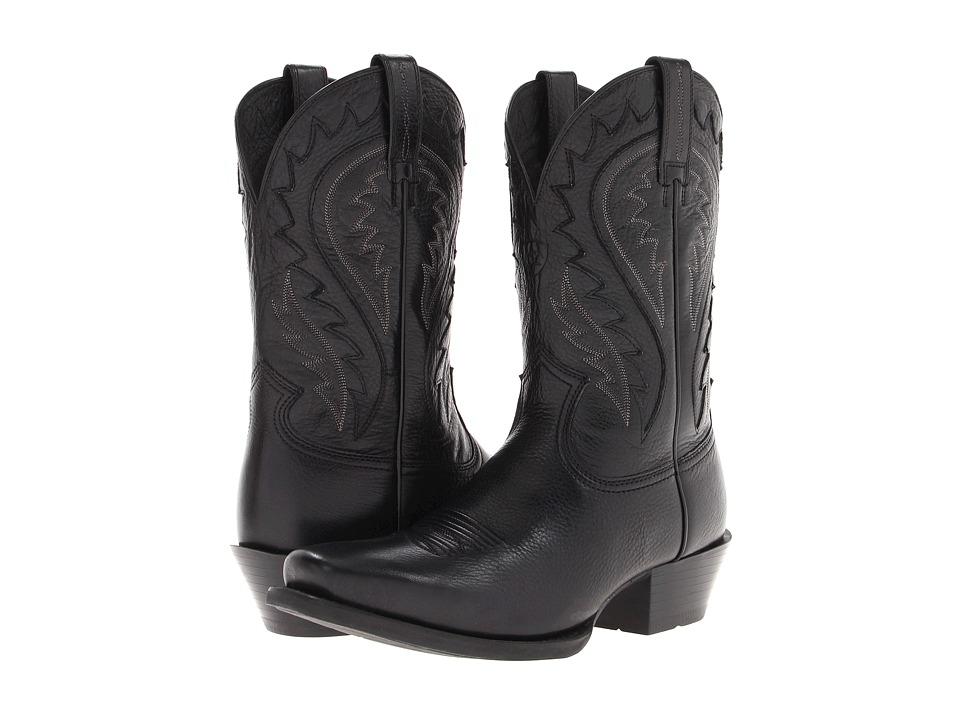 Ariat - Legend Phoenix (Black Deertan) Cowboy Boots