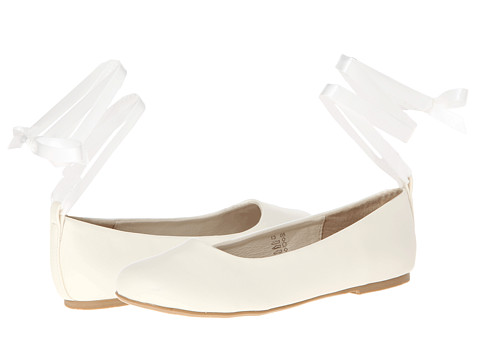 Pazitos Swan BF PU (Little Kid/Big Kid) - Ivory