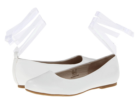 Pazitos Swan BF PU (Little Kid/Big Kid) - White