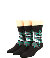 Volcom Kids - Gnargyle Sock 3-Pack (Big Kids)
