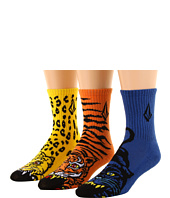 Volcom Kids - FA Jimbo Phillips Sock 3-Pack (Little Kids)
