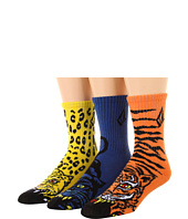Volcom Kids - FA Jimbo Phillips Sock 3-Pack (Big Kids)