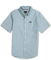 RVCA Kids - That'll Do Oxford S/S (Big Kids)