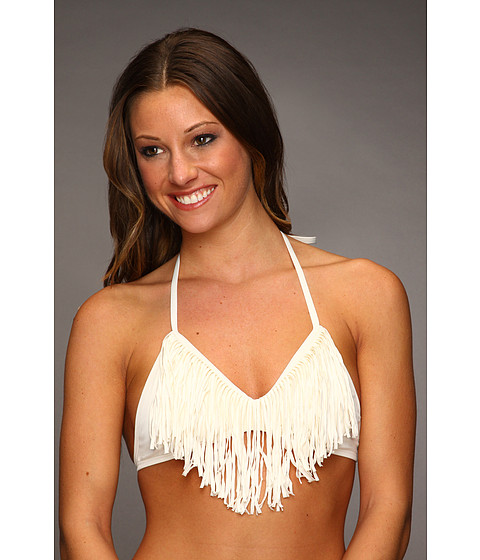 Cheap L Space Audrey Straight Fringe Top Cream