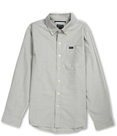 RVCA Kids - That'll Do Oxford L/S Tee (Big Kids)