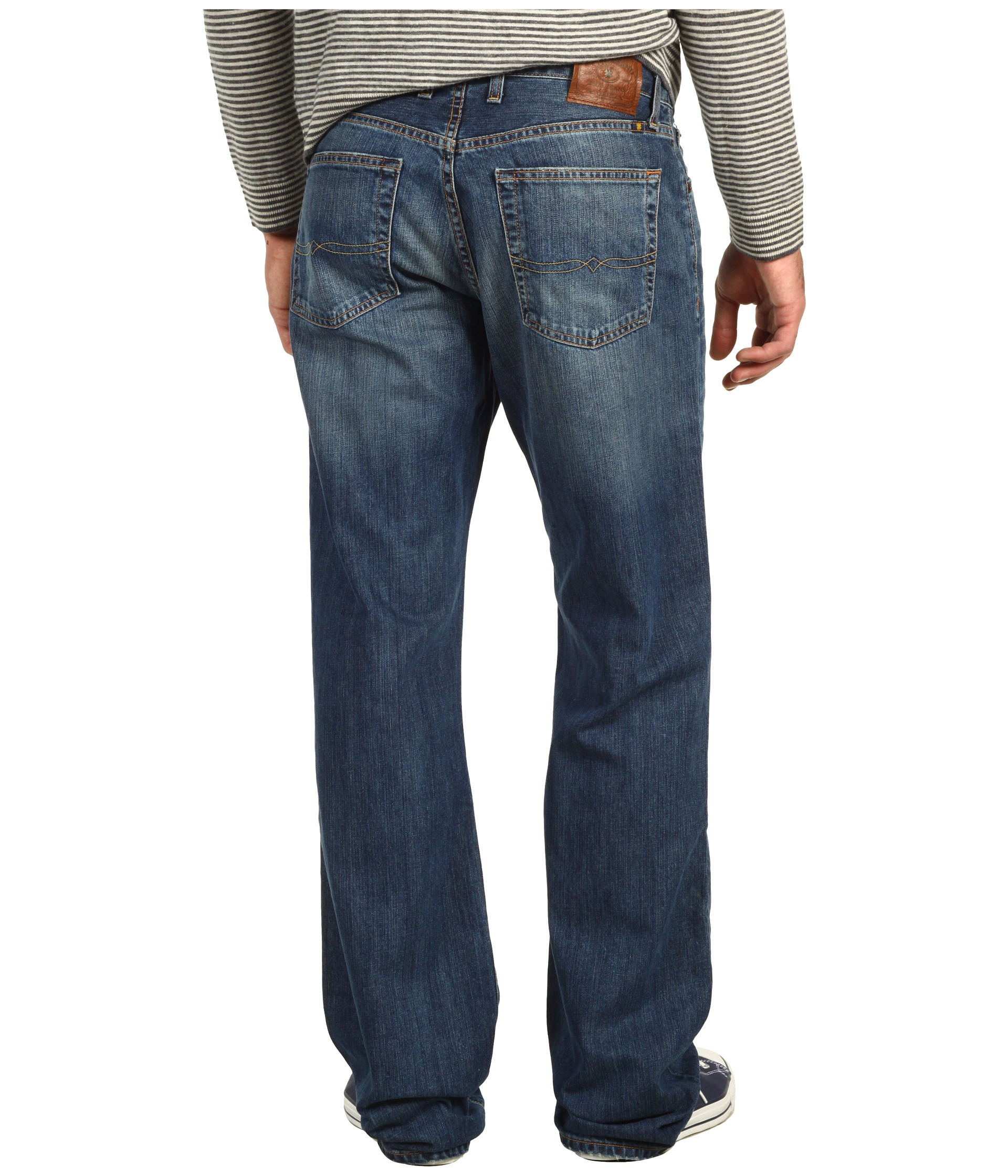 Lucky Brand 181 Relaxed Straight 34 in Medium Clarksville