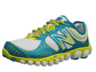 New Balance W3090v2 White, Green Shoes